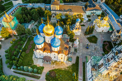 Piously-Troitsk Sergieva degli allori Immagini Stock Libere da Diritti