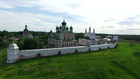 Piously-Troitsk Sergieva degli allori stock footage
