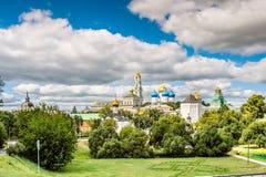 Piously-Troitsk von Lorbeer Stockfotografie