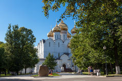 Piously-Uspensky cathedral ,city Yaroslavl Royalty Free Stock Image