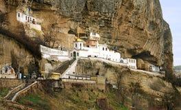 Piously - Uspensky a cave mona Royalty Free Stock Photo