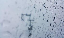 Piova la goccia Fotografie Stock Libere da Diritti