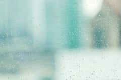 Piova la goccia Fotografie Stock