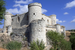 Pioz城堡  免版税库存照片