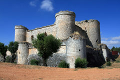 Pioz castle Royalty Free Stock Photography