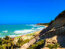 Pipa Beach in Brazil Royalty Free Stock Images
