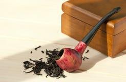 Pipa del tabaco fotografía de archivo