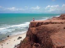 Pipastrand, Brasilien Royaltyfri Bild