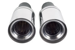 Pipe. Sports exhaust pipe for the car Royalty Free Stock Images