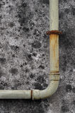 Pipe. An old and rusty water pipe stock photos