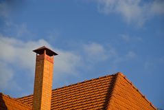 Free Pipe And Roof. Stock Photo - 7385060