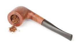 Pipe avec du tabac photo libre de droits