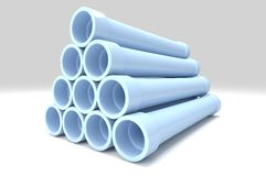 Pipe Background Stock Photo