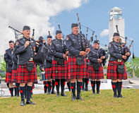 Pipe Band Royalty Free Stock Photography