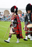 Pipe Band leader Royalty Free Stock Photo