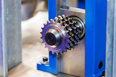 Pipe bending machine Royalty Free Stock Photography