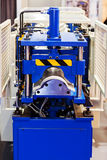 Pipe bending machine Royalty Free Stock Photo