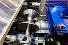 Pipe bending machine Stock Photography