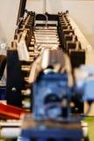 Pipe bending machine Stock Photos