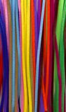 Pipe cleaners. A background of multi colored pipe cleaners Stock Photography