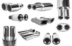 Pipe-collection Stock Image