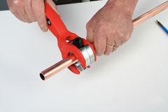 Pipe cutter Stock Images