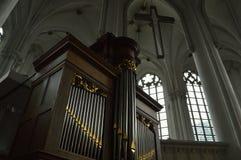 pipe d'organe d'église image stock