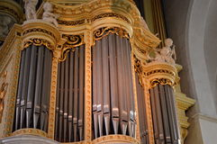pipe d'organe d'église image libre de droits