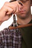 Pipe de découpage de plombier Image libre de droits