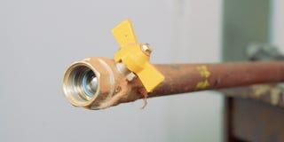 Pipe de gaz Images libres de droits