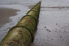 Pipe de sortie d'eaux d'égout Images libres de droits