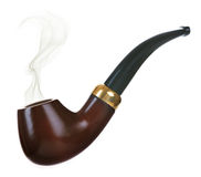 Pipe de tabac photographie stock