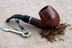Pipe de tabac Image stock
