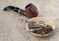 Pipe de tabac Photos stock
