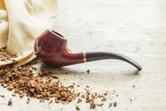 Pipe de tabac images stock