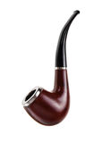 Pipe de tabac, d'isolement photographie stock