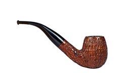 Pipe de tabac sur le blanc image stock