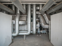 Pipe duct of air condition Stock Photography