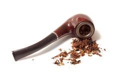 Pipe et tabac images libres de droits