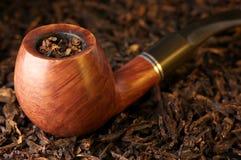 Pipe et tabac photographie stock libre de droits