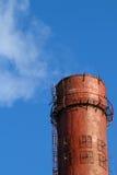 Pipe  factory  smoke  emission  sky Stock Photo