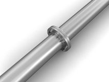 Pipe fitting Stock Photo