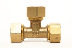 Pipe fittings Royalty Free Stock Photo
