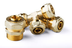 Pipe fittings Stock Photography