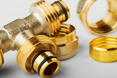 Pipe fittings Royalty Free Stock Photography