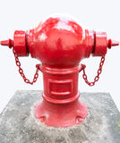 Pipe fittings  fire fighting Royalty Free Stock Photos