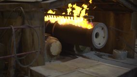 Pipe hardening by fire. HD