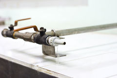 Pipe hose joints valve Stock Photo