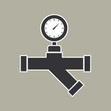Pipe icon vector Stock Photos