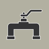 Pipe icon vector Stock Image